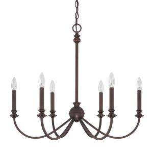 Capital Lighting 4746BB Alexander 6 light Chandelier