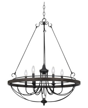 Cal Lighting FX-3518-6 Helena 6 light Chandelier