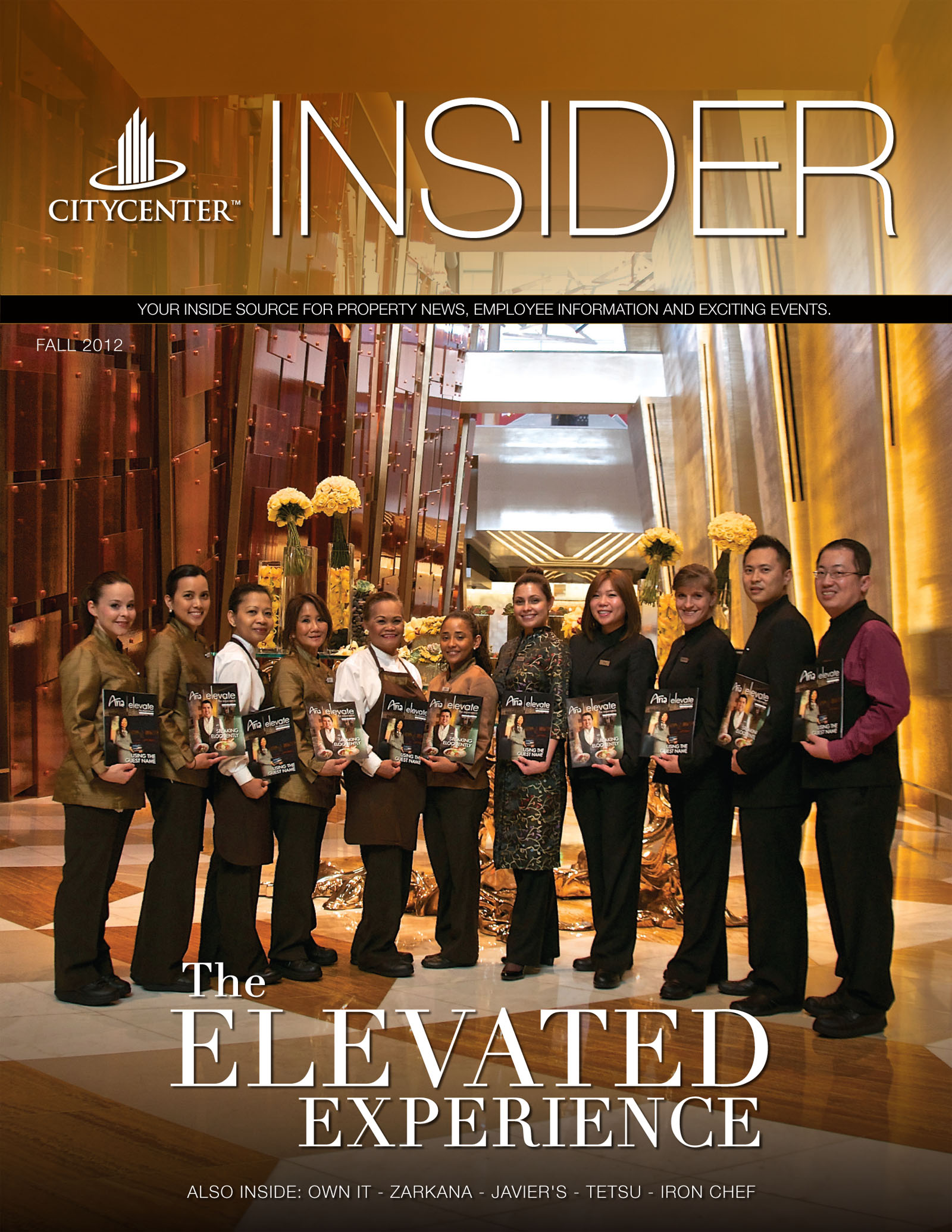 CityCenter's 2012 Fall Issue INSIDER MAGAZINE