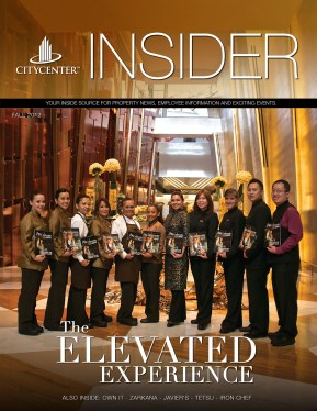 CityCenter's 2012 Fall Issue INSIDER MAGAZINE
