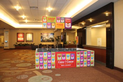 Cans for a Cause Signs