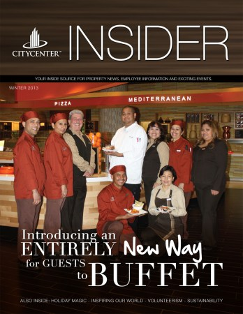 2013 Winter Issue CityCenter's INSIDER MAGAZINE