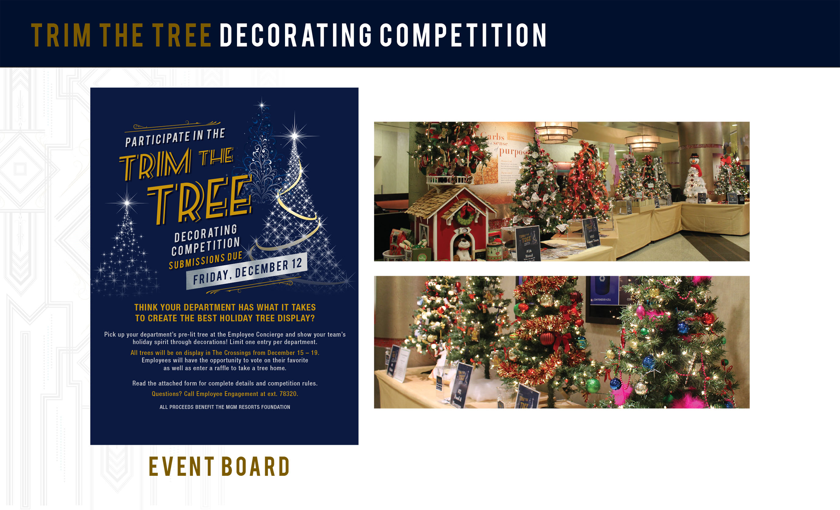 Trim the Tree Forms & Posters