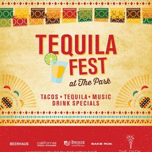 Tequila fest the park poster