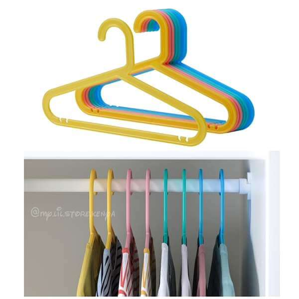ikea bagis children s coat hanger 8pk