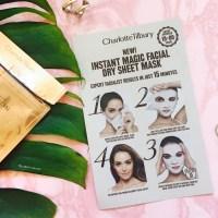 Charlotte Tilbury - Revolutionary Instant Magic Facial Dry Sheet Mask - A Review