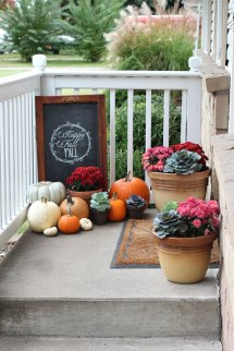 Great Ways Decorate Porch Fall List Of Lists