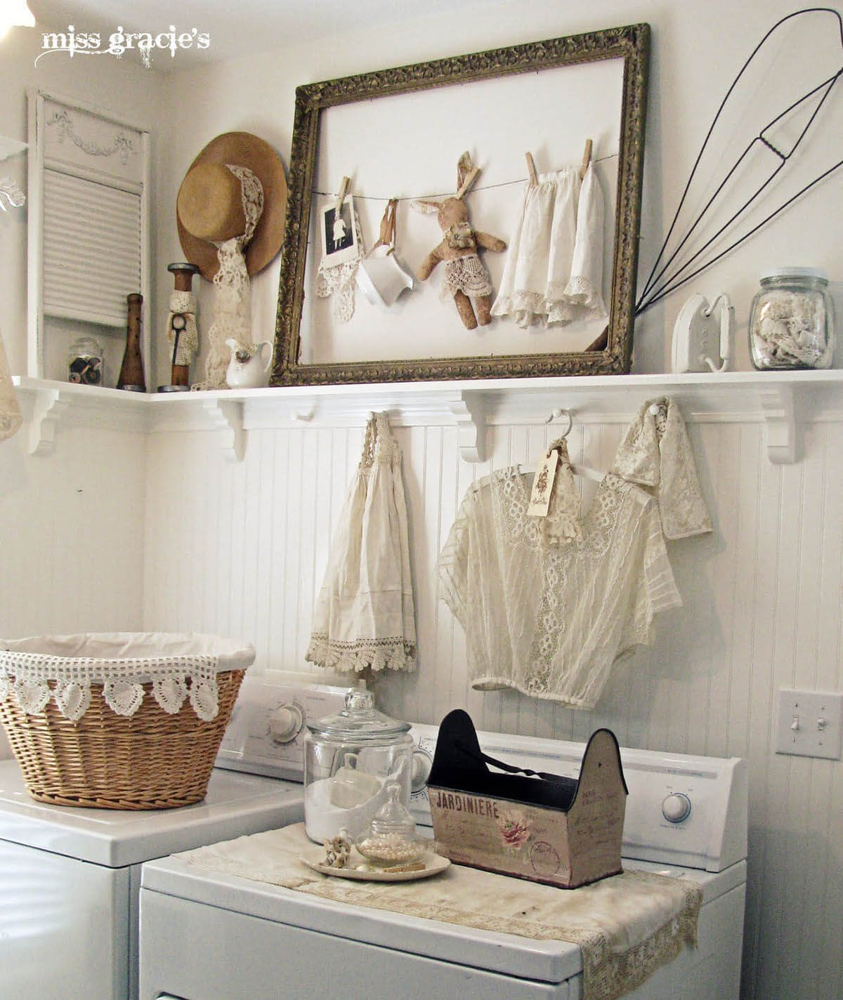 Do It Yourself Ideas For A Vintage Laundry Room My List