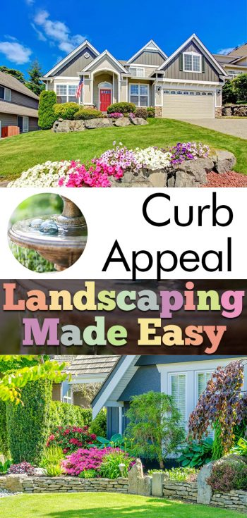 curb appeal landscaping easy