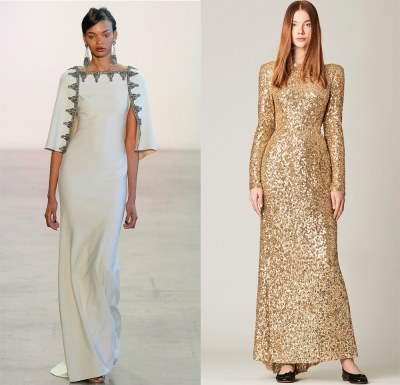 Evening dresses for Orthodox