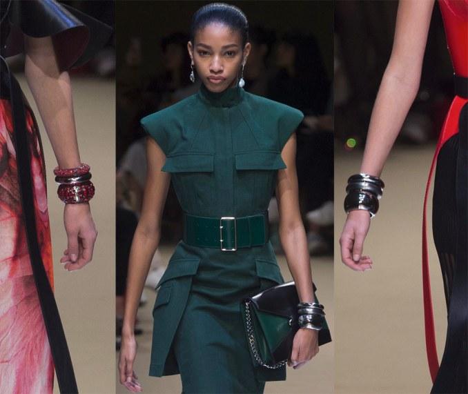 Beautiful bracelets Alexander McQueen