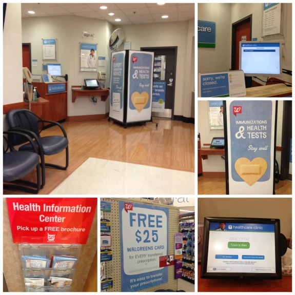 Walgreens Healthcare Clinic Visit in Houston