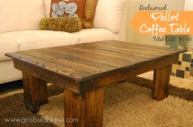 Reclaimed Pallet Coffee Table - Mylitter Deal Time