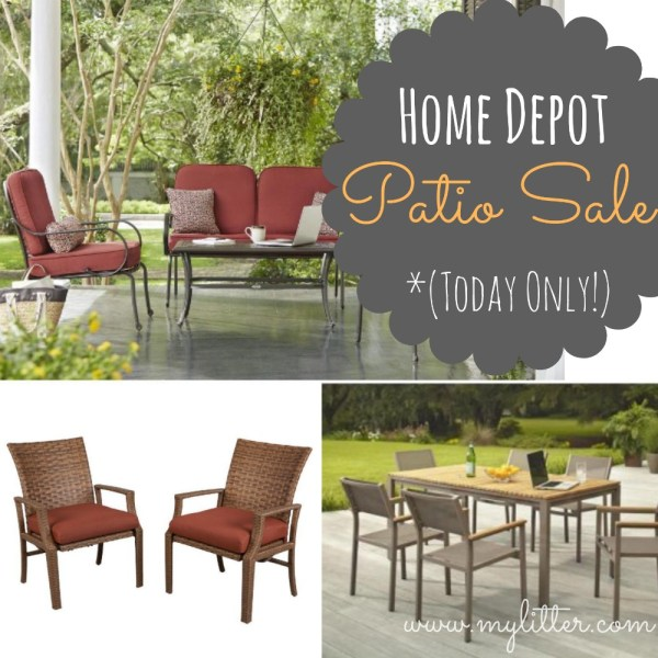 Home Depot Patio Furniture 50 Sets Today