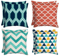 Walmart Outdoor Cushions/Pillows only $5!