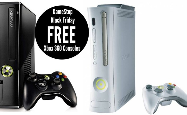 Gamestop Free Xbox 360 Consoles On Black Friday