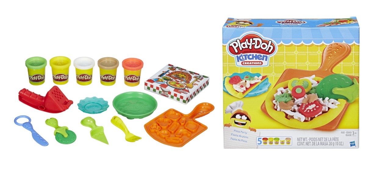 Walmart PlayDoh Kitchen Creations Pizza Party only 488 regular 969  MyLitter  One Deal