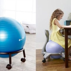 Ball Chair Amazon Rebecca Swivel 50 Off On Gaiam Active Sitting Mylitter One Deal At A Time Kids Balance