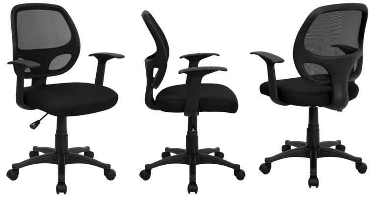 walmart computer chairs human scale chair mesh back black 39 regular price 66