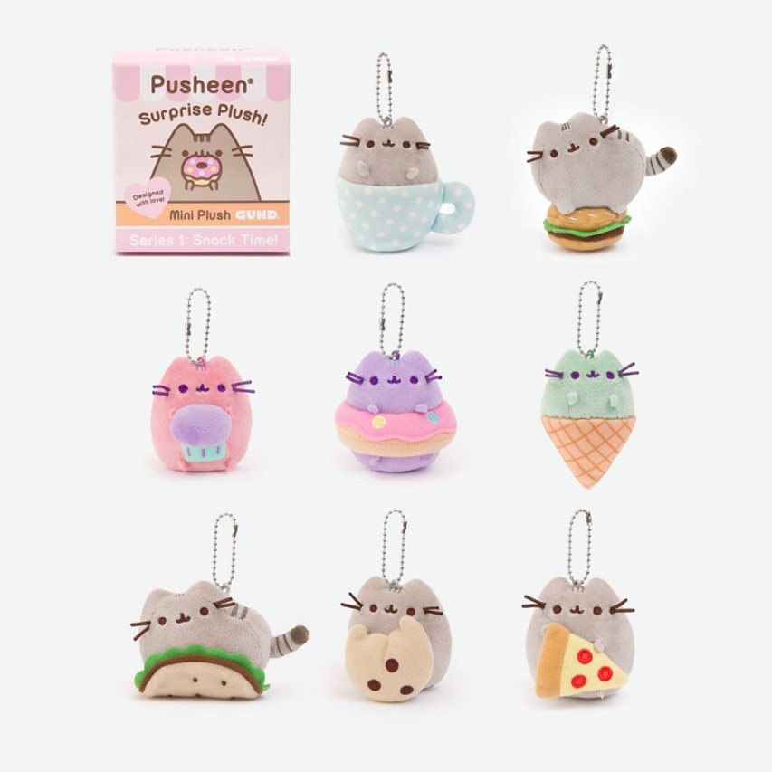 Pusheen Surprise Plush Blind Box Series 1 Snack