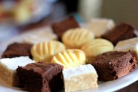 Assorted slices/biscuits