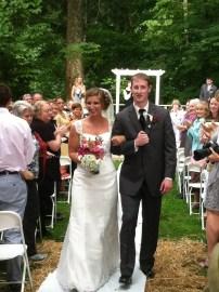 celebrated Caitlin's wedding!