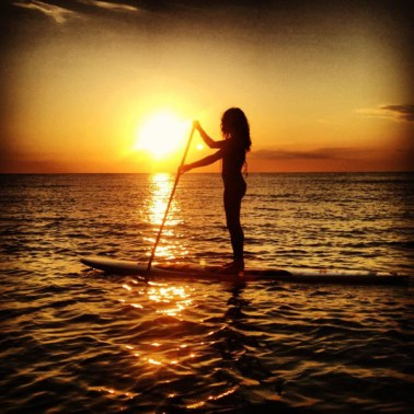 Sunset-SUP-