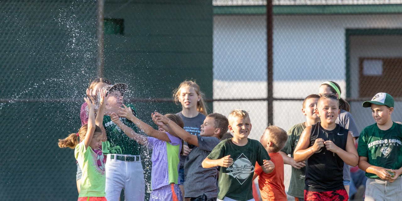 Watertown Slams Diamond Dawgs, but the Kids Still Have Fun!