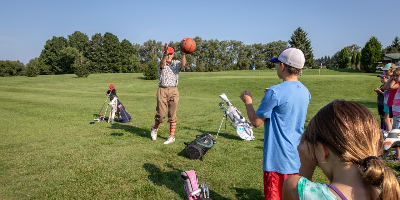 Youth Golf Clinic Tees Off at Little Falls Municipal Golf Course