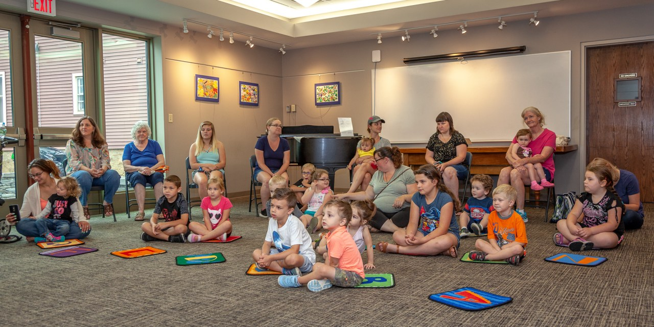 Interactive Concert for Kids Held at the Library