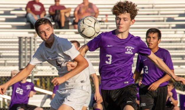 Boys varsity soccer team shut down by Frankfort-Schuyler