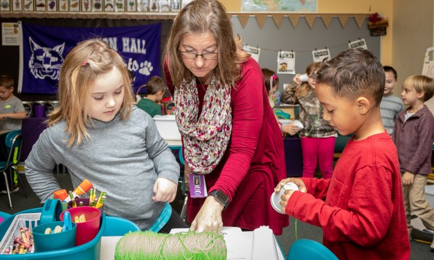 There's plenty of STEAM at Benton Hall Academy