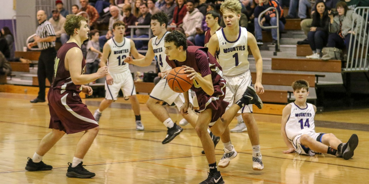 Mounties fall short in loss to Raiders