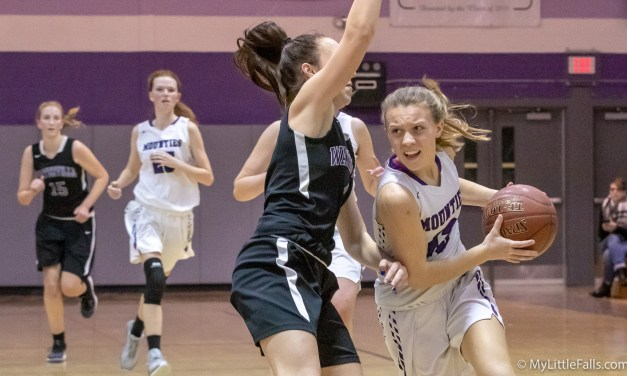 Little Falls powers through Waterville defense for 63-48 win
