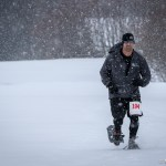 The Green is White Snowshoe Race is in the books and it was brutal