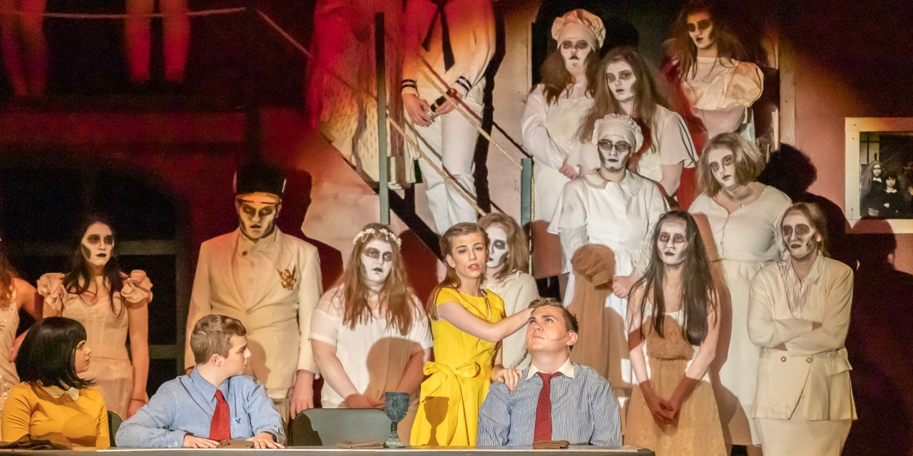 Little Falls Drama Club packs them in for 'The Addams Family' musical comedy