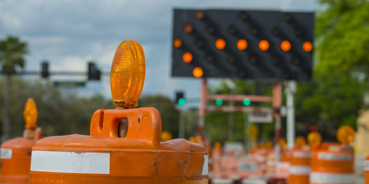 Road Work Report for the Week Beginning October 19, 2020