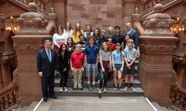 Seward welcomes middle school students to capital