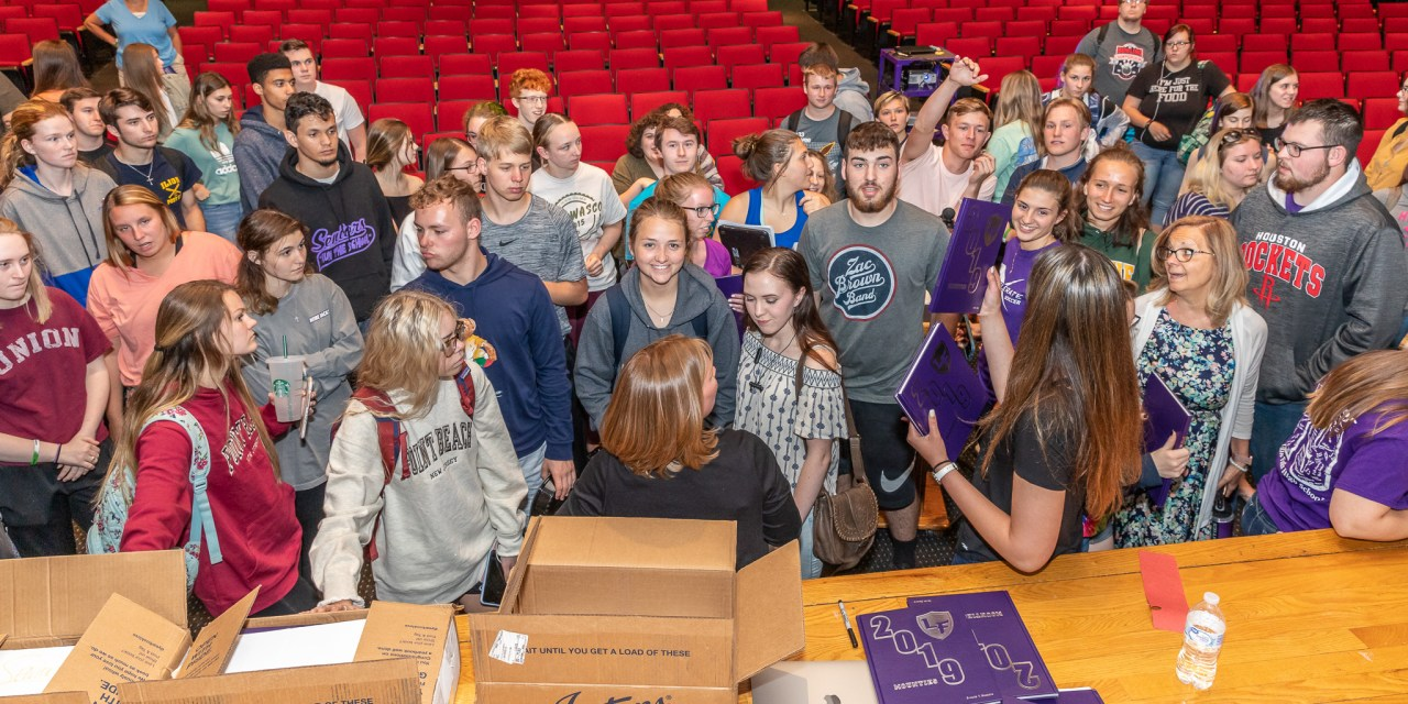 LFHS Yearbook 'revealed' in special gathering