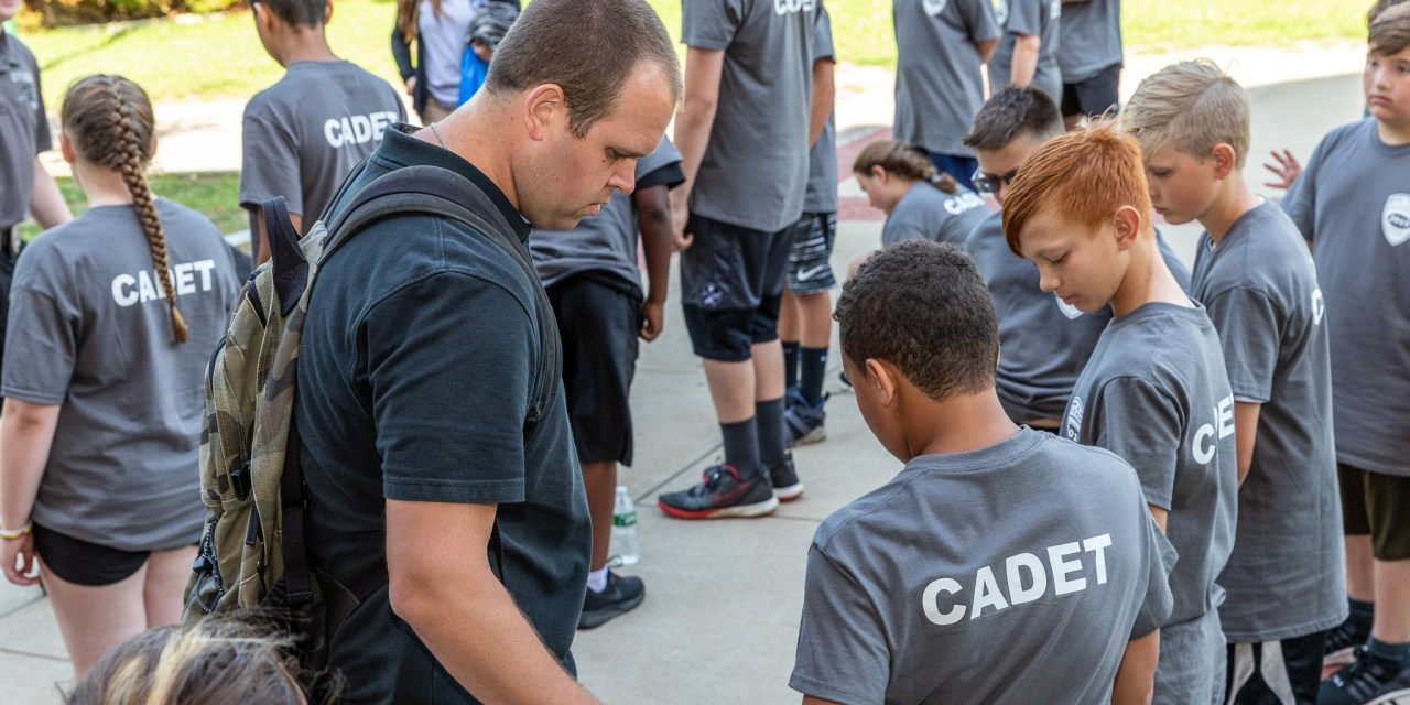 Jr. Police Academy students finish week of training