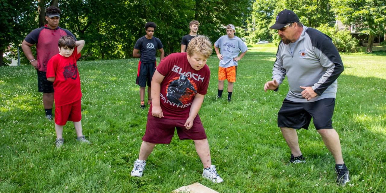 2019 LF co-ed summer football camp kicks off