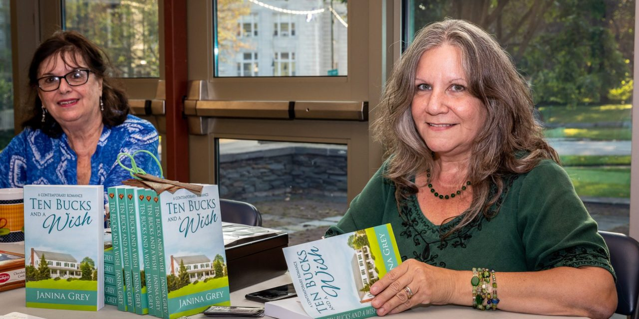Library holds 'meet the author' event