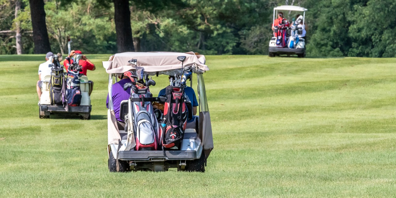 Sixty-eight golfers hit the links Saturday morning to support the Little Falls football program