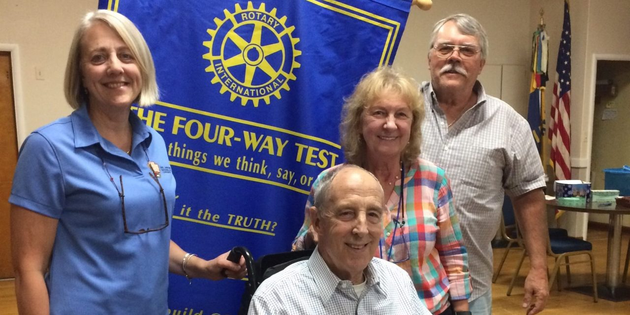 Presentation made to Rotary on Erie Canal National Heritage Corridor Challenge