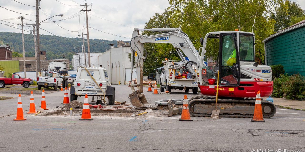 Road Work Report for the Week Beginning November 4, 2019