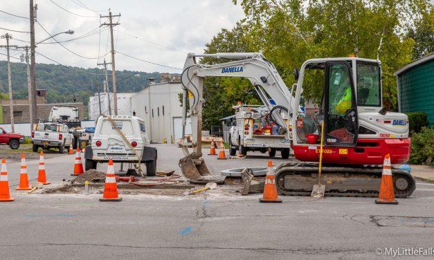Road Work Report for the Week Beginning November 18, 2019
