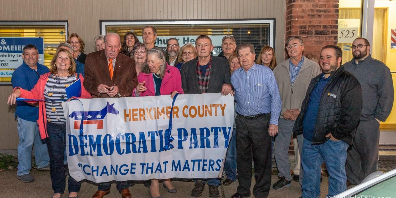 County Democrats open office in Little Falls
