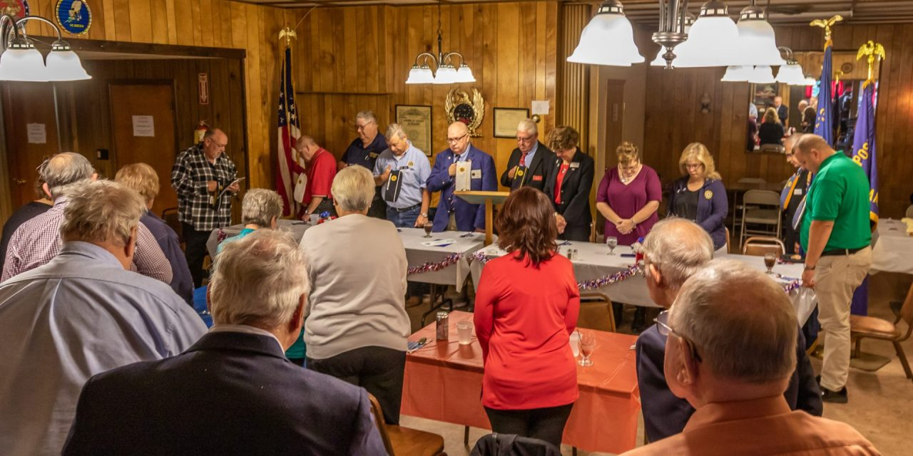 Little Falls American Legion hosts dignitaries