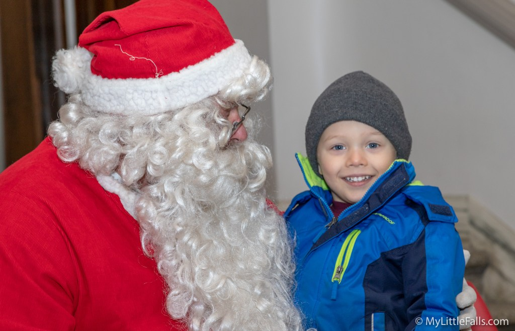 Photo by Dave Warner - Santa will begin visiting with the children from about 9:15-10:30 am at City Hall.