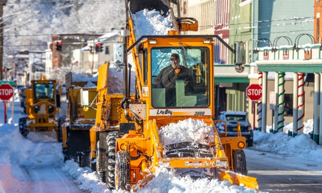 DPW keeps at it with clean up after winter storm